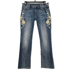 Driftwood Kelly Embroidered Baby Boot Jeans 26